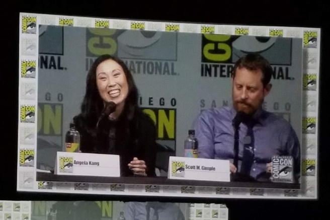Angela Kang and Scott M. Gimple