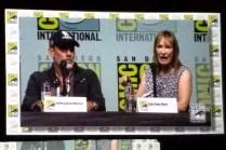 Jeffrey Dean Morgan and Gale Anne Hurd