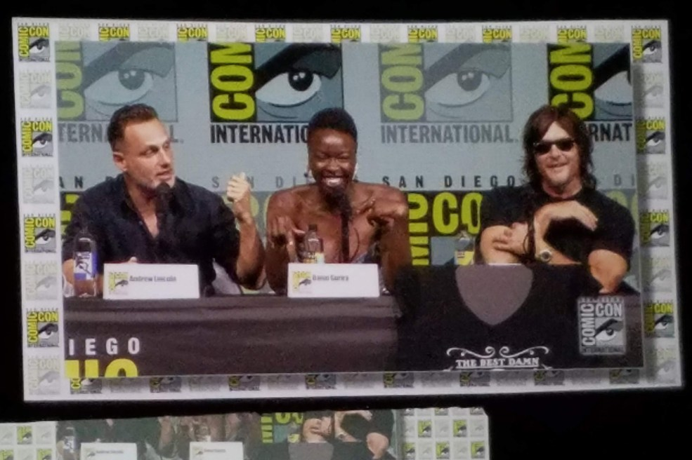 The Walking Dead panel at San Diego Comic-Con 2018