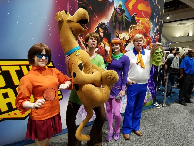 Zoinks! Scooby-Doo and the gang made an appearance at San Diego Comic-Con 2018.