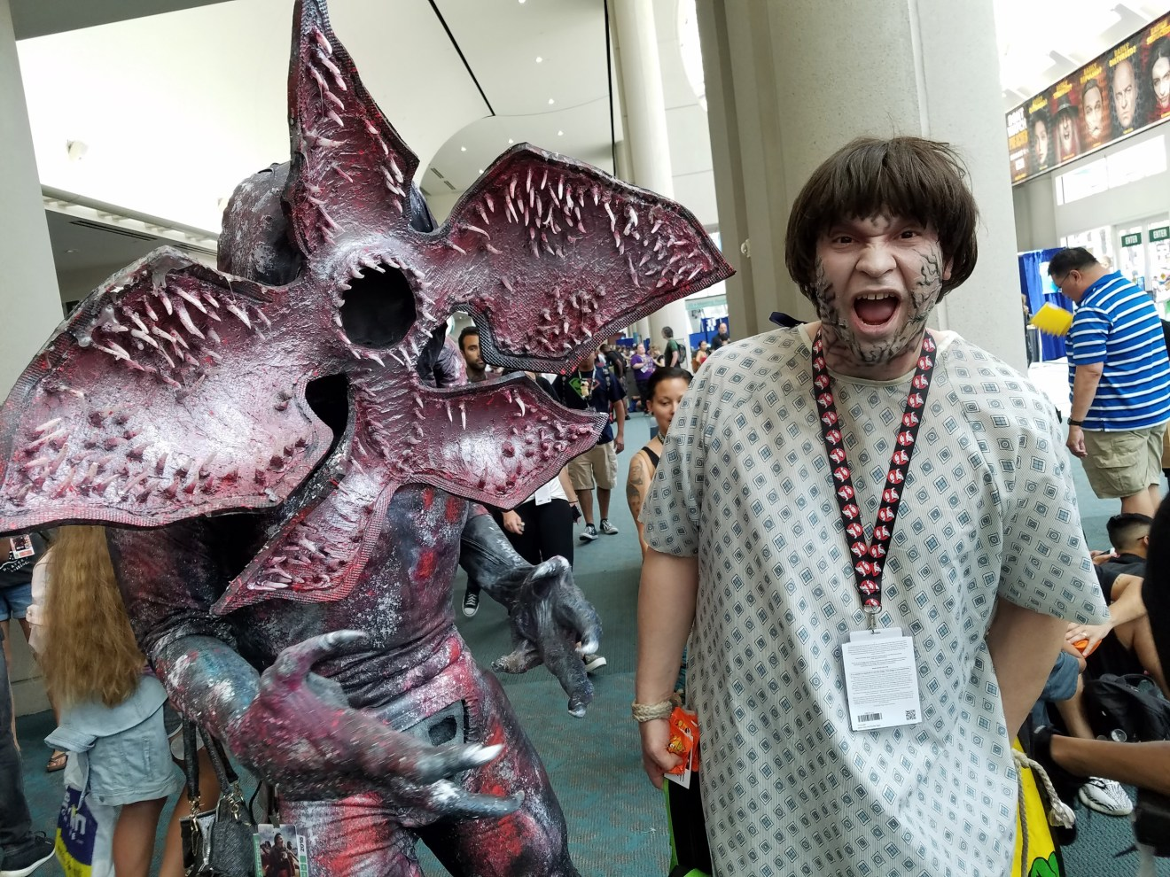 I've seen Stranger Things at San Diego Comic-Con 2018