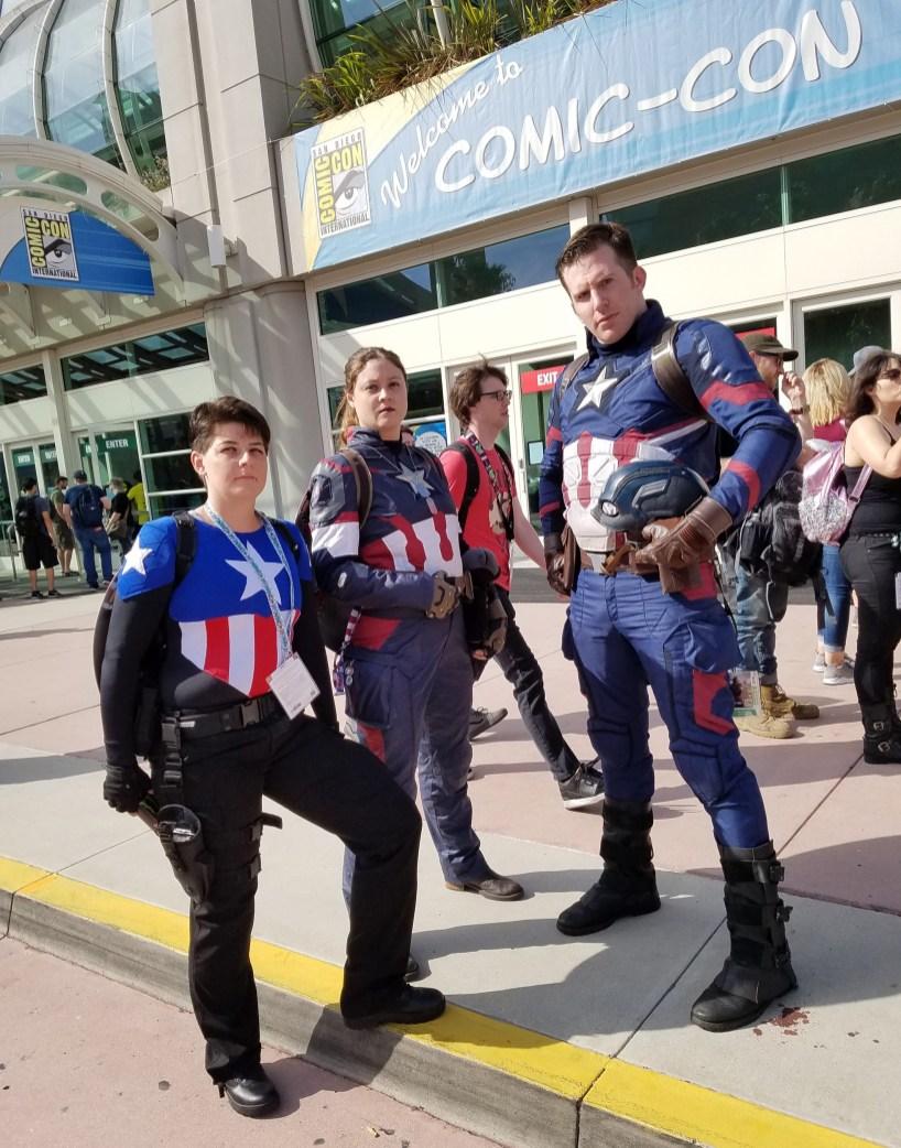 Captain Americas