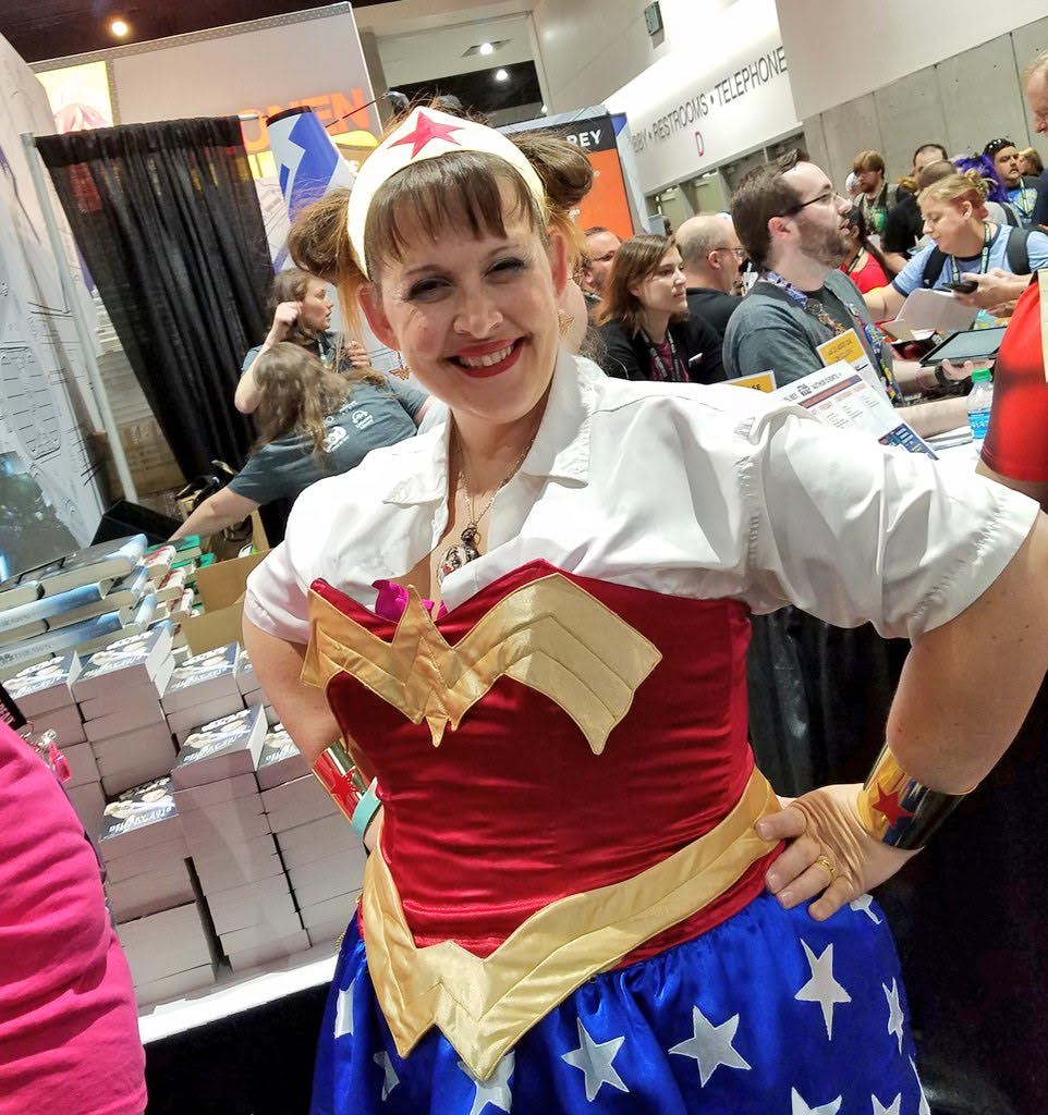 Wonder Woman at San Diego Comic-Con 2018