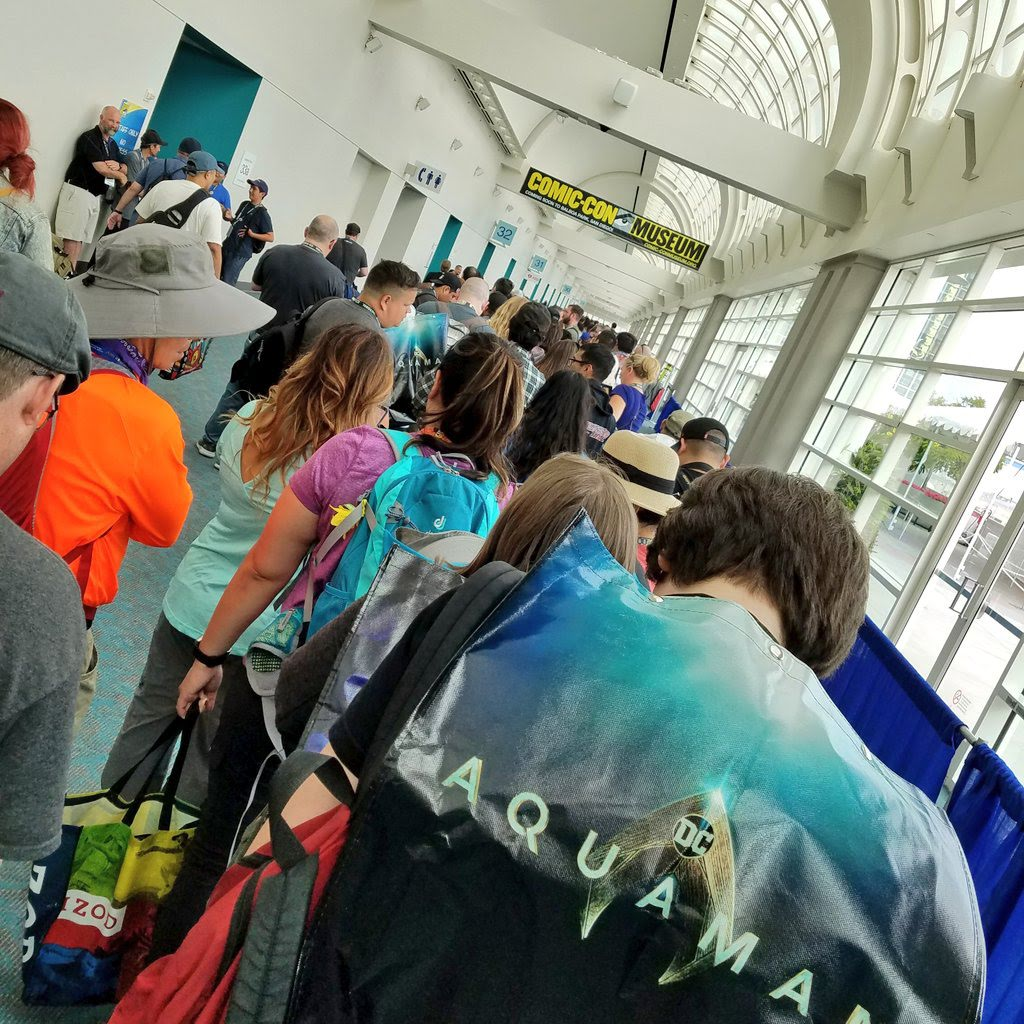 Lines at San Diego Comic-Con 2018