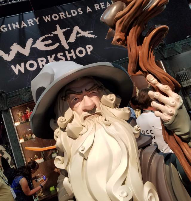 Gandalf at San Diego Comic-Con 2018