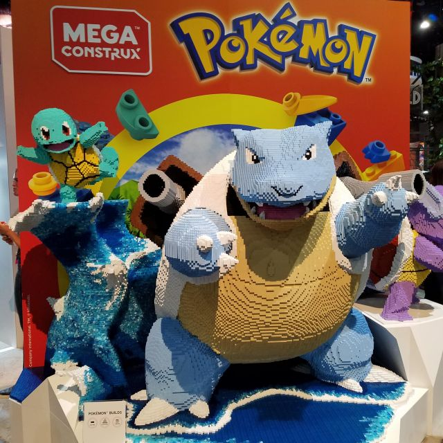 LEGO Pokemon at San Diego Comic-Con 2018