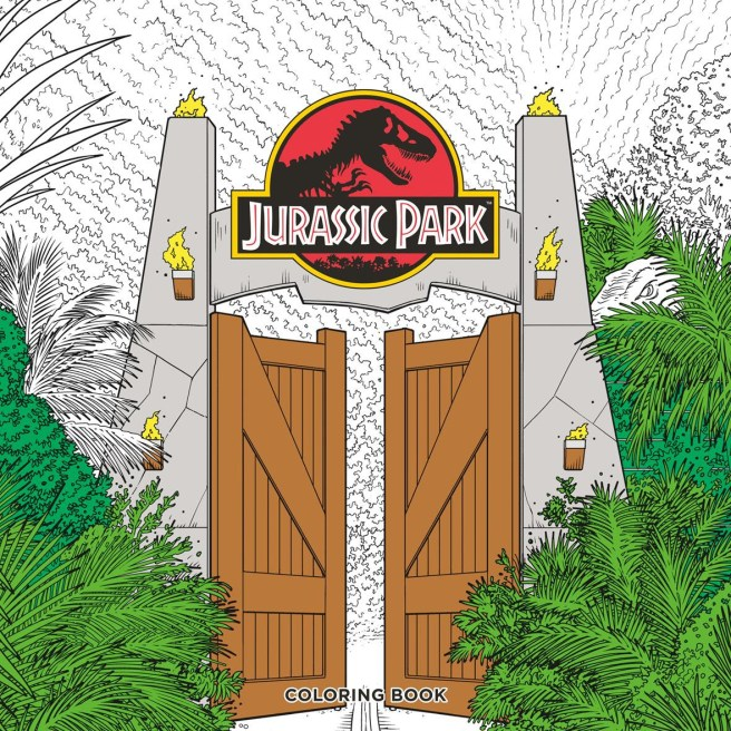 Jurassic Park coloring book