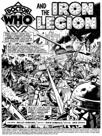Doctor Who and the Iron Legion