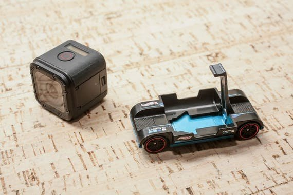 You Can Hook Up Your GoPro to This Hot Wheels Car