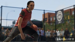 For the first time, gamers can customize female players for NBA Live 19. The game was just released. (Photo courtesy EA Sports)