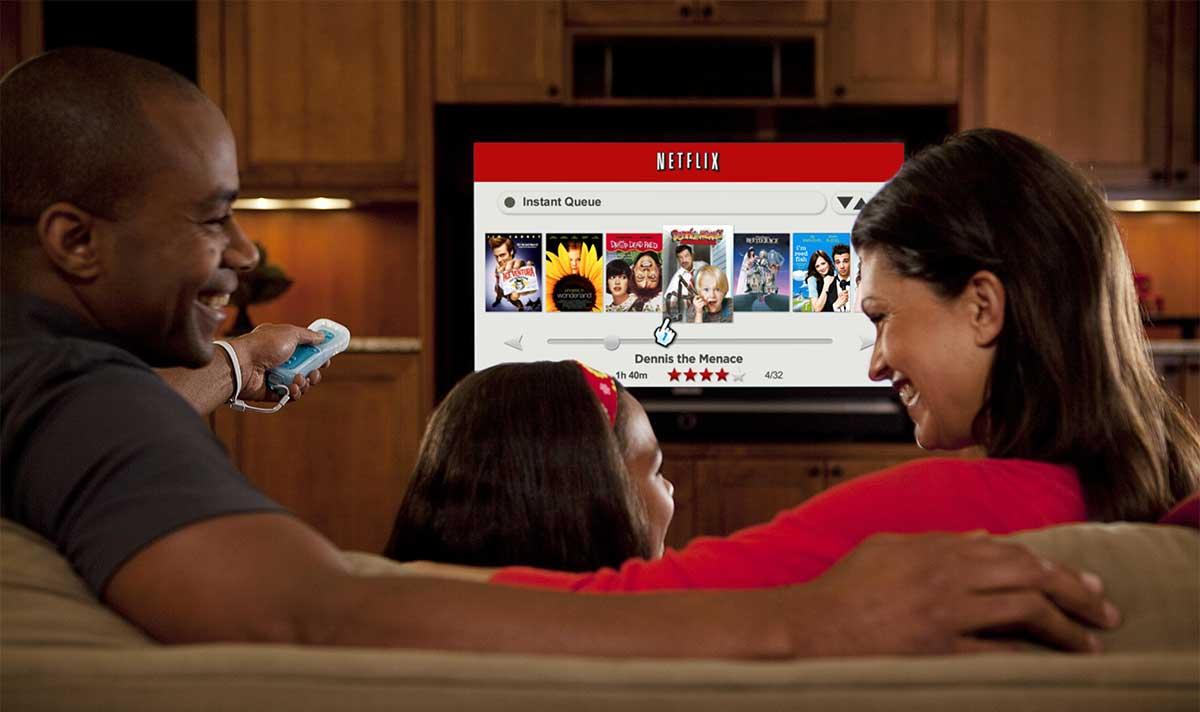Netflix on Nintendo Wii