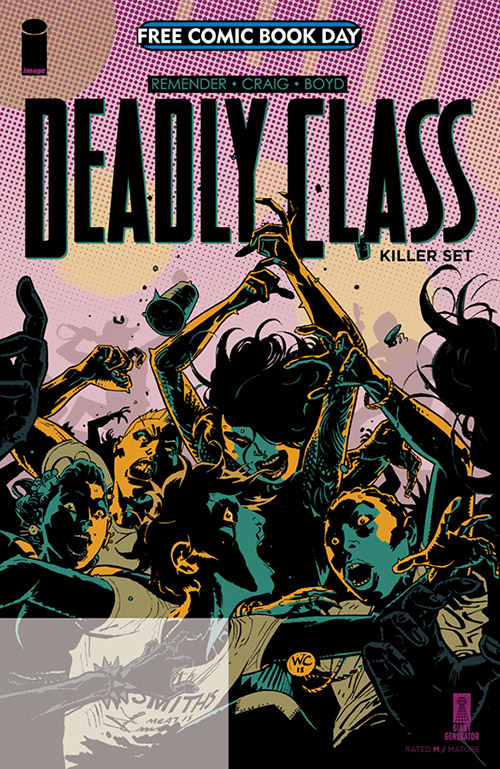 DEADLY CLASS: KILLER SET ONE-SHOT — FREE COMIC BOOK DAY 2019