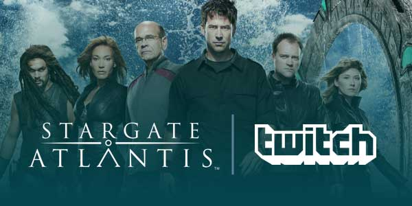 Twitch Presents Stargate: Atlantis