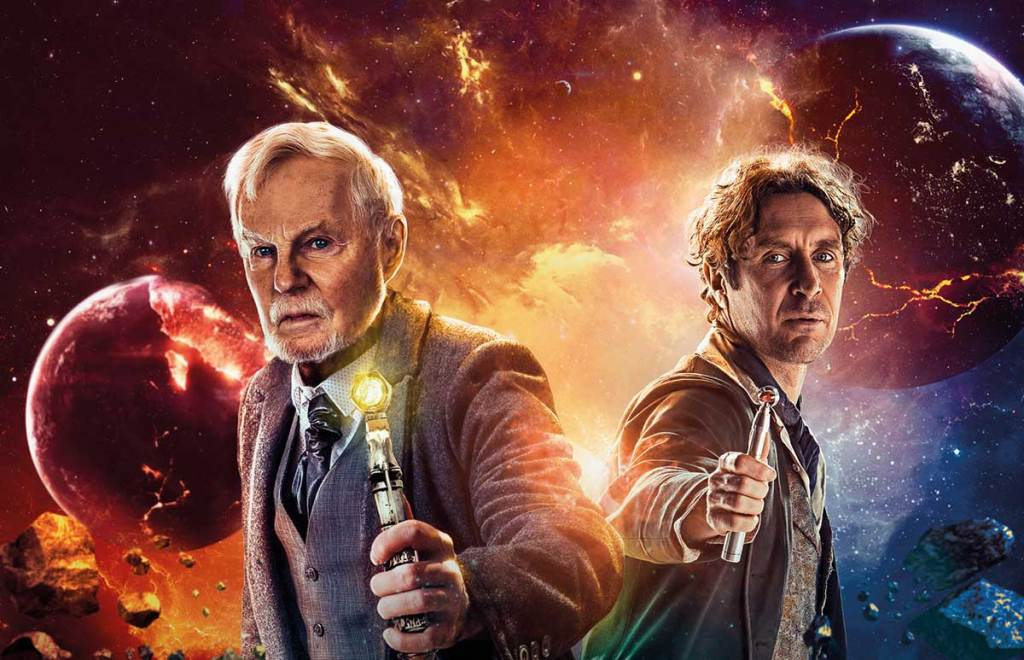Derek Jacobi's War Master vexes Paul McGann's Eighth Doctor in Rage of the Time Lords from Big Finish