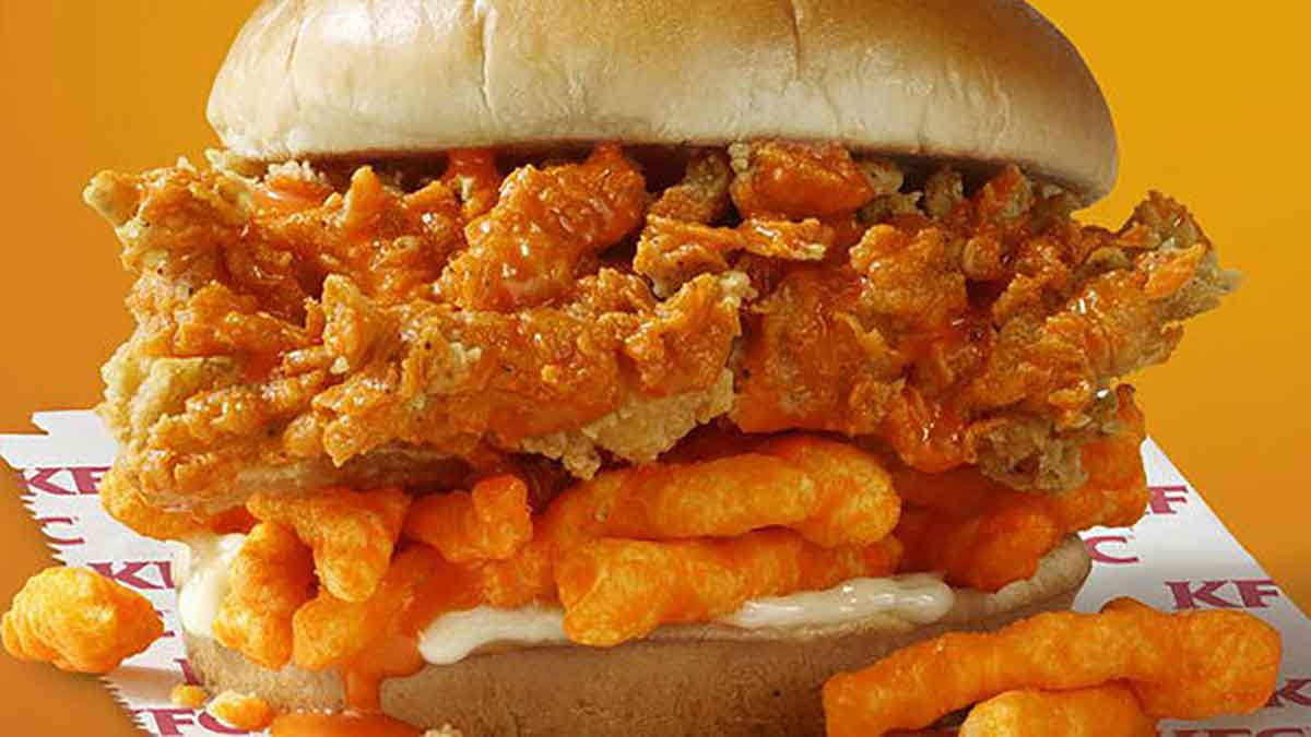 kfc cheetos chickena