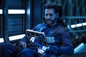 Cas Anvar as Alex Kamal on The Expanse