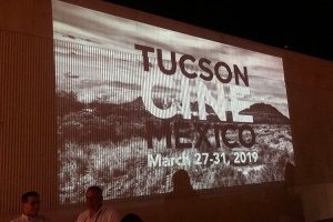 """The Tucson Cine Mexico film festival kicked off its 16th year Wednesday night with celebration, dancing and discussion about the Mexican film industry. The festival will run through Sunday with different events on each day. """"The filmmakers who come up from Mexico love our diverse audience, and they also are always really pleasantly surprised by the quality of the presentation of their film,"""" festival Co-director Vicky Westover said. (Photo by Nicole Ludden/Cronkite News)"""