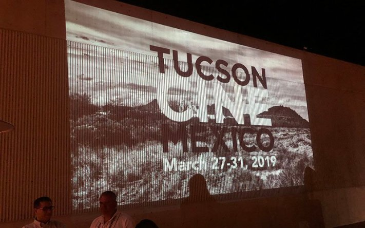 "The Tucson Cine Mexico film festival kicked off its 16th year Wednesday night with celebration, dancing and discussion about the Mexican film industry. The festival will run through Sunday with different events on each day. ""The filmmakers who come up from Mexico love our diverse audience, and they also are always really pleasantly surprised by the quality of the presentation of their film,"" festival Co-director Vicky Westover said. (Photo by Nicole Ludden/Cronkite News)"