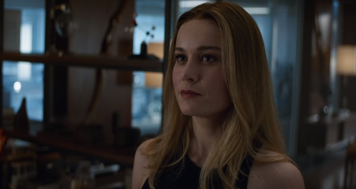 Avengers: Endgame clip featuring Captain Marvel