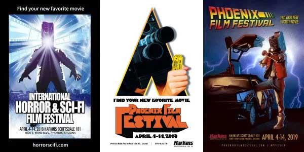 Phoenix Film Festival 2019 posters