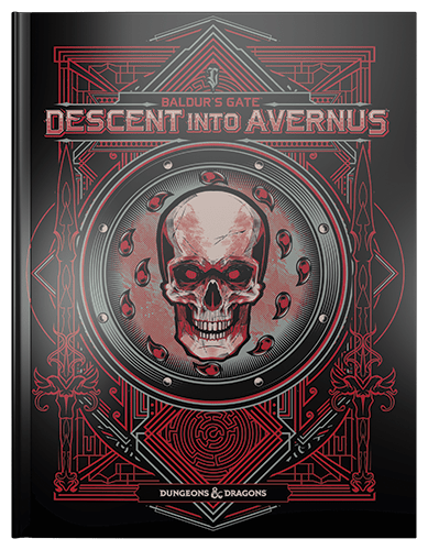 D&D Descent Into Avernus alternate cover