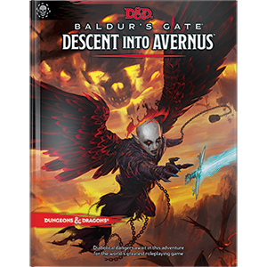 D&D Descent Into Avernus standard cover
