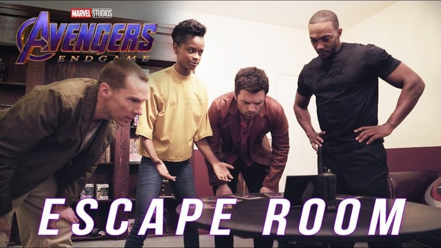 'Avengers: Endgame' stars take on an 'Avengers' themed escape room