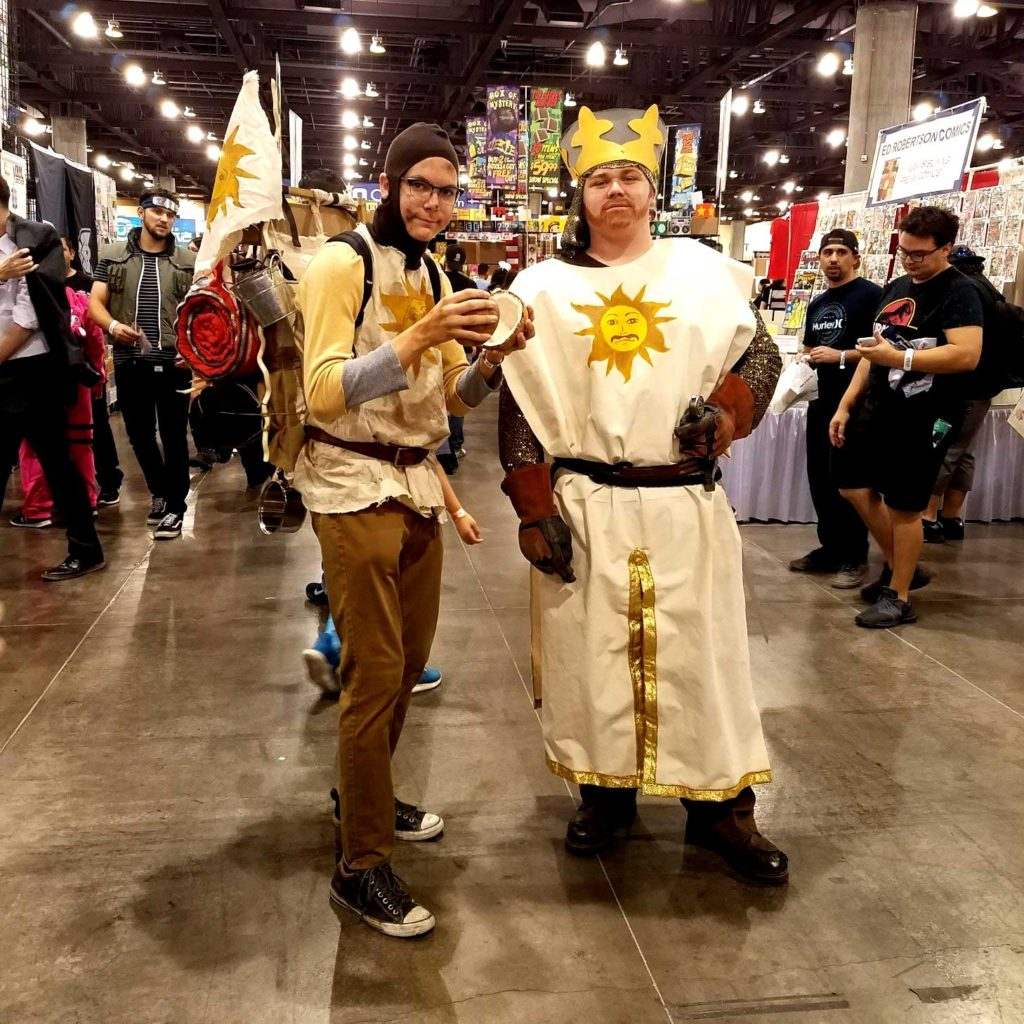 Questing for the Grail at Phoenix Fan Fusion 2019