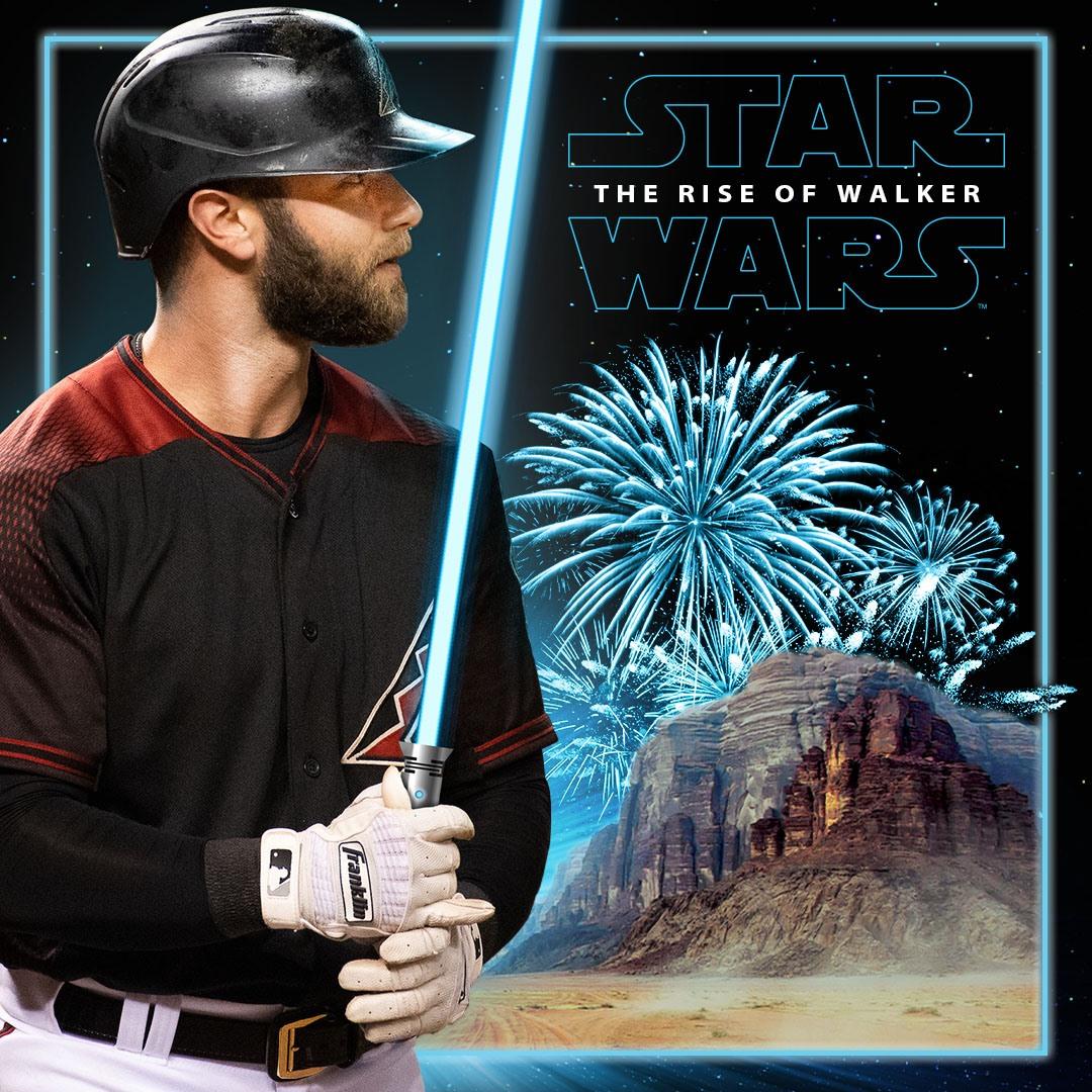 Star Wars Night taking place at the Arizona Diamondbacks' game on May 11