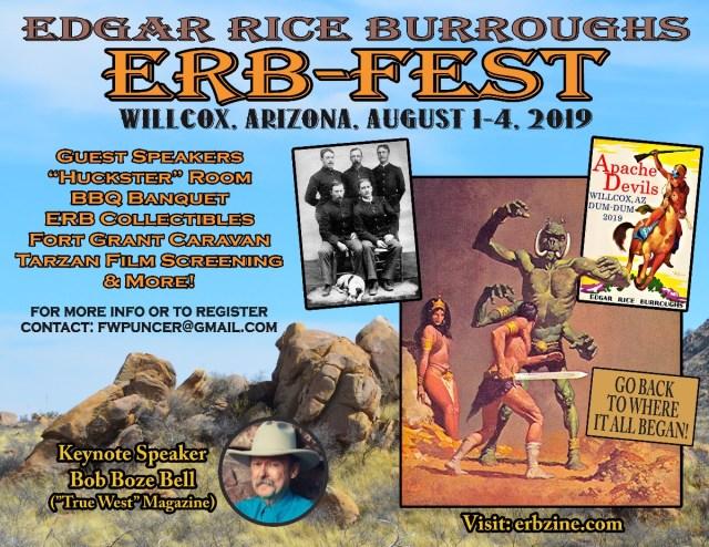 Edgar Rice Burroughs returns to Arizona with ERB-Fest 2019