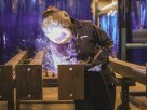 About 47% of American women are employed, according to the U.S. Bureau of Labor Statistics. Of those, 4.5% work in welding, soldering and brazing. (Photo by Thalia M. España/Cronkite News)