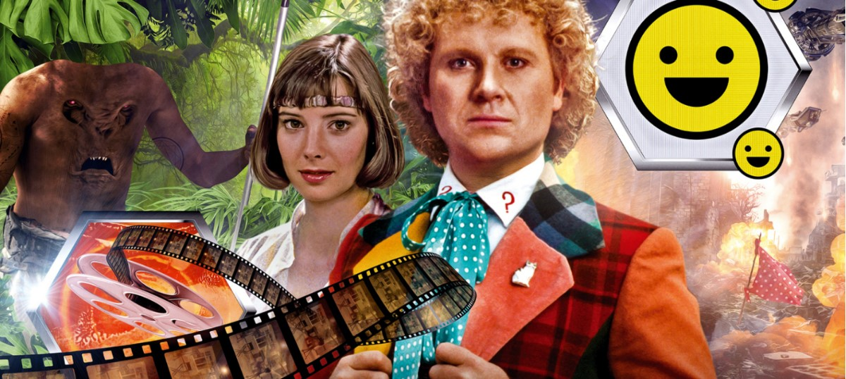 Sixth Doctor and Peri team up for more Doctor Who audio adventures from Big Finish