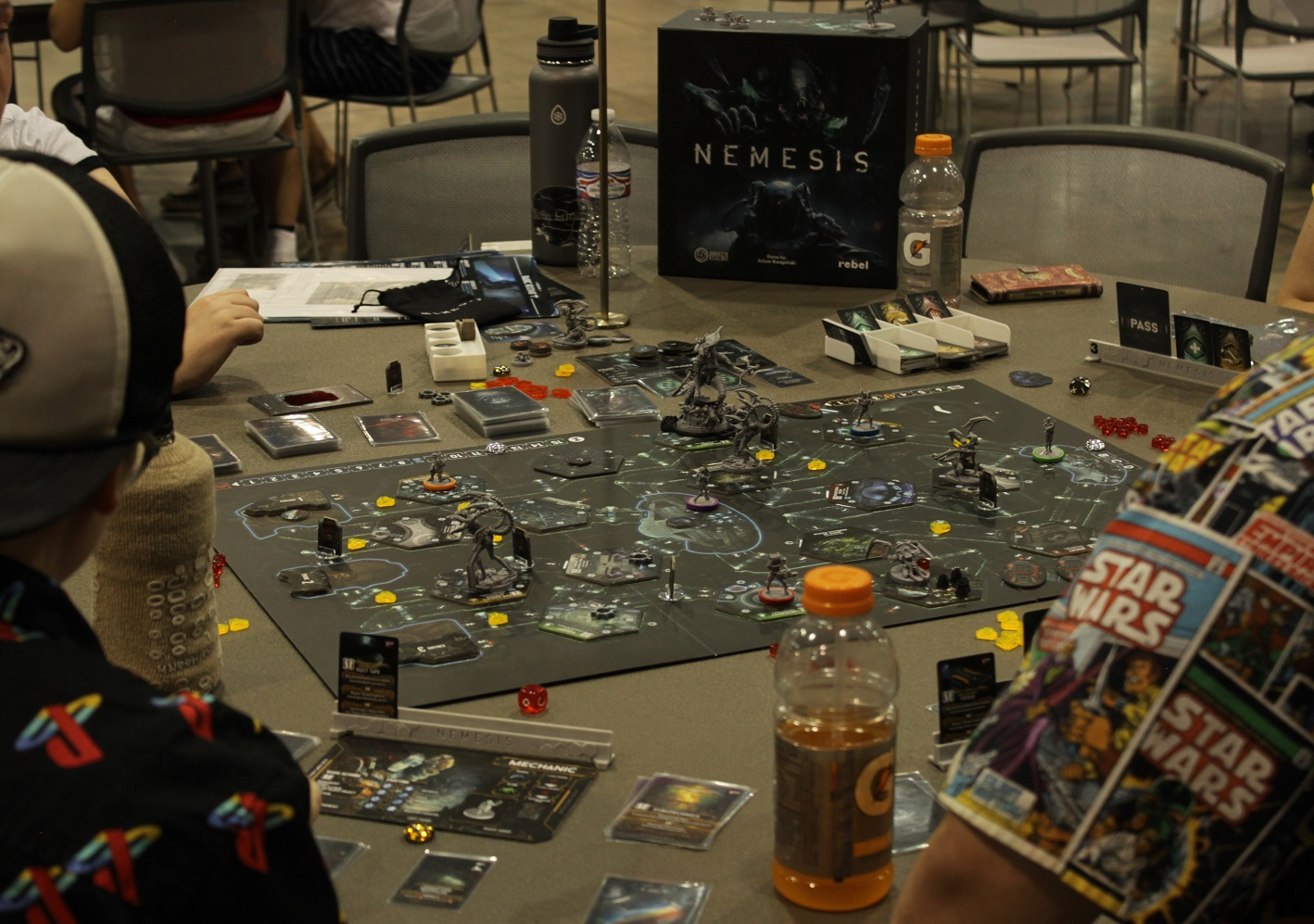 Not just video games, Game On hosted tabletop gaming as well. Photo by Justin Franco.