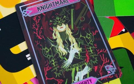 Sparkly*Kitty Nightss Knightmare Card