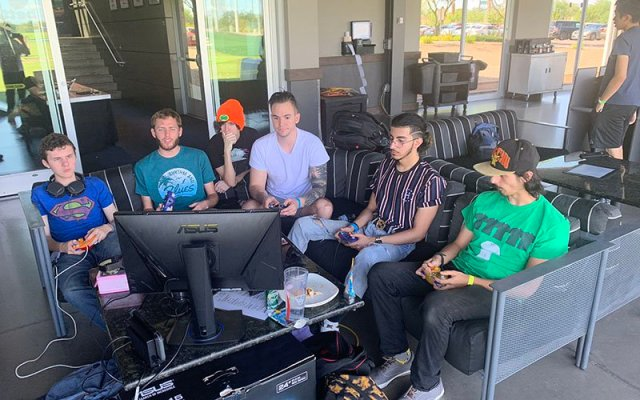 Topgolf is expanding its reach and hosting more esports events, like this recent Ascension tournament in Gilbert. (Photo by Jason Krell/Cronkite News)