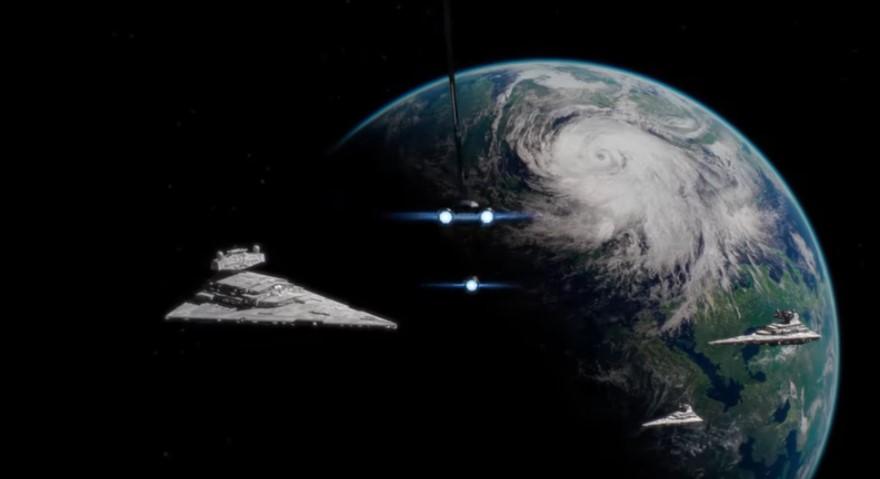 Open-world Star Wars video game in development