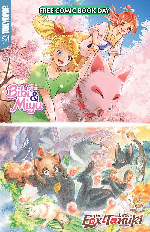 BIBI & MIYU/ THE FOX & THE LITTLE TANUKI