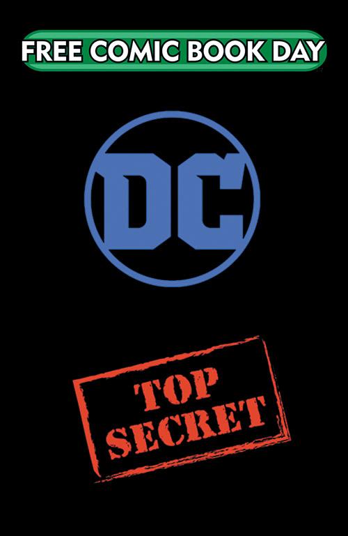DC TOP SECRET SILVER TITLE