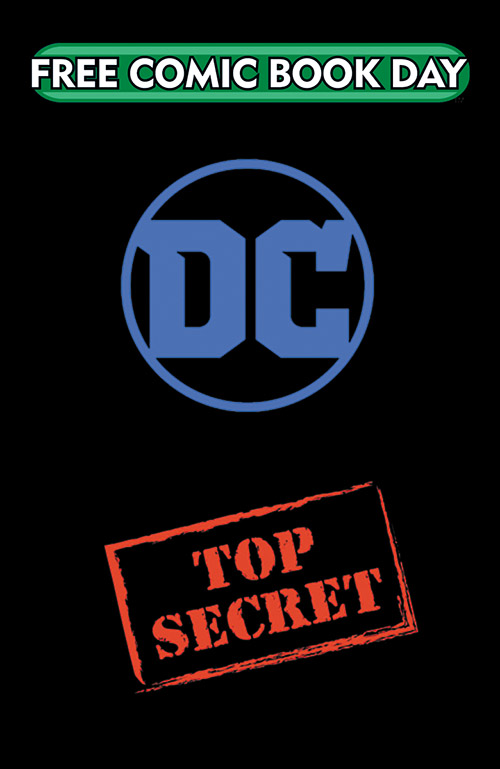 DC TOP SECRET SILVER TITLE