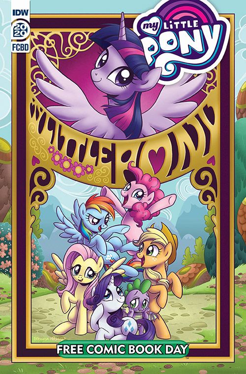 MY LITTLE PONY: FRIENDSHIP IS MAGIC FCBD 2020