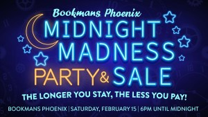 Bookmans Midnight Madness Sale & Party