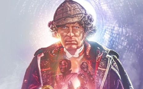 Doctor Who - The Collection - Season 14 Blu-ray art Tom Baker Fourth Doctor crop