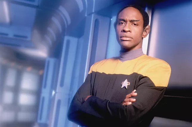 Tim Russ as Tuvok on Star Trek: Voyager