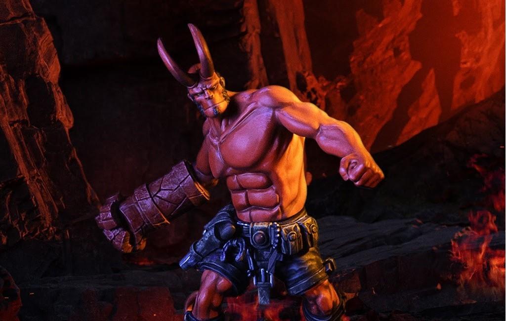 Hellboy Statue — Mantic Series