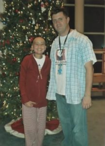 Jeromy Adams befriended Victoria Enmon, who endured a nearly five-year battle with cancer. (Photo courtesy Jeromy Adams)