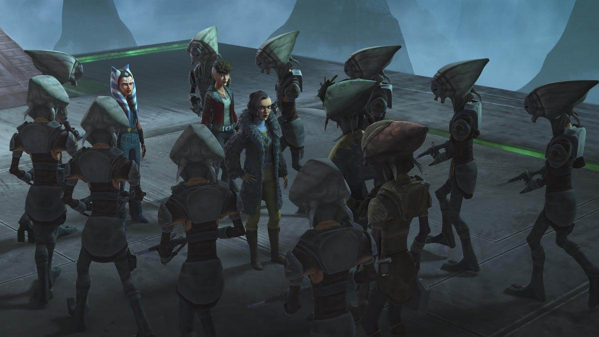 """Star Wars: The Clone Wars 706 """"Deal No Deal"""
