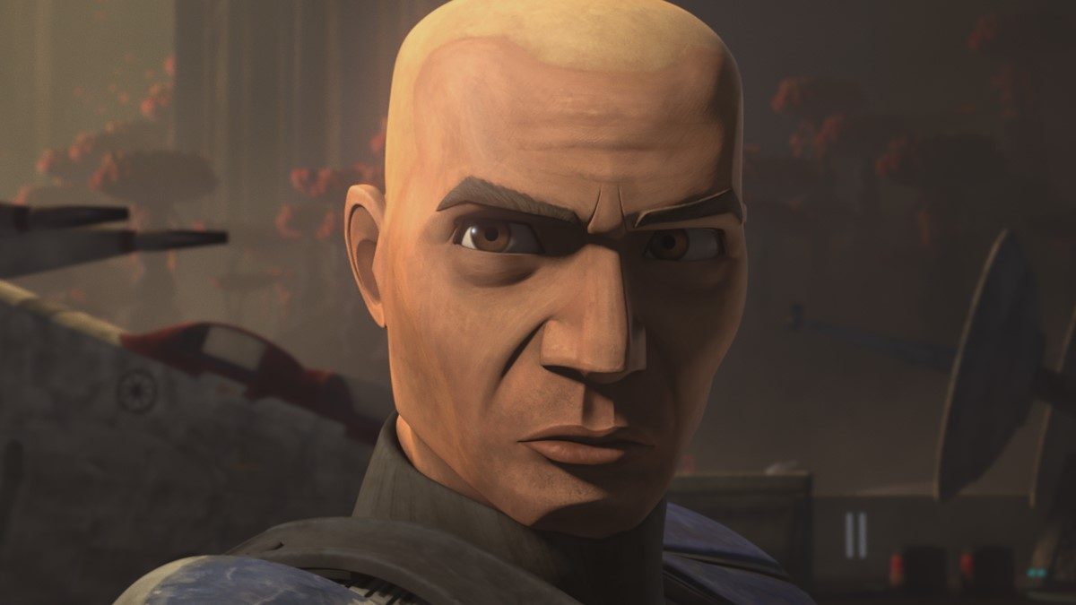 Clone Captain Rex in STAR WARS: THE CLONE WARS, exclusively on Disney+.