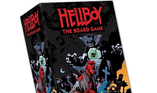 Hellboy in Mexico board game