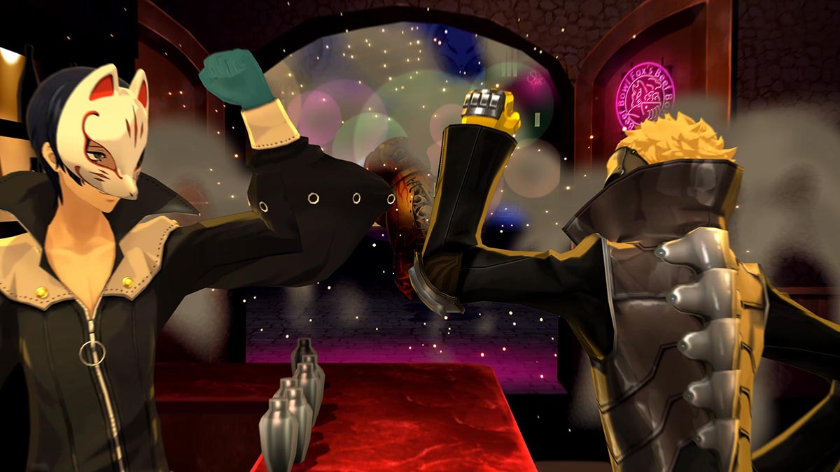 Ryuji and Yusuke showtime in Persona 5 Royal