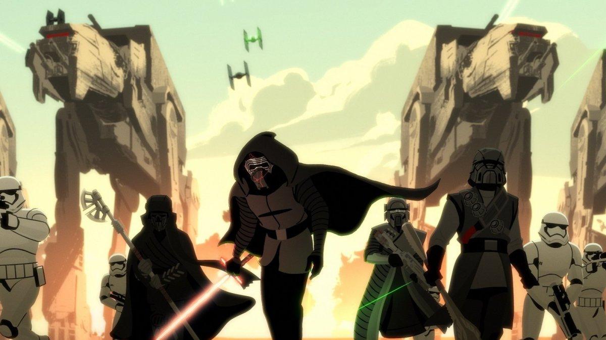Kylo Ren vs. Resistance Rebels